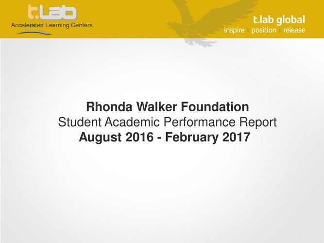 Final Document- RWF Student Report