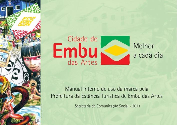 Manual interno de uso da marca Prefeitura de Embu das Artes