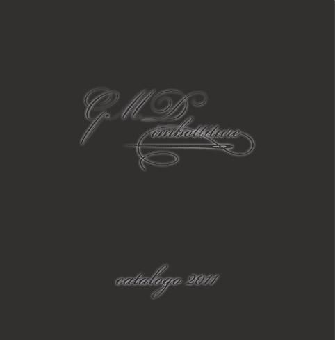 GMD imbottiture - Catalogo 2011