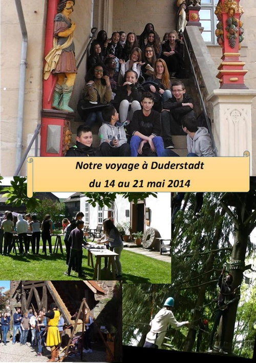 Duderstadt chateau accrobranche