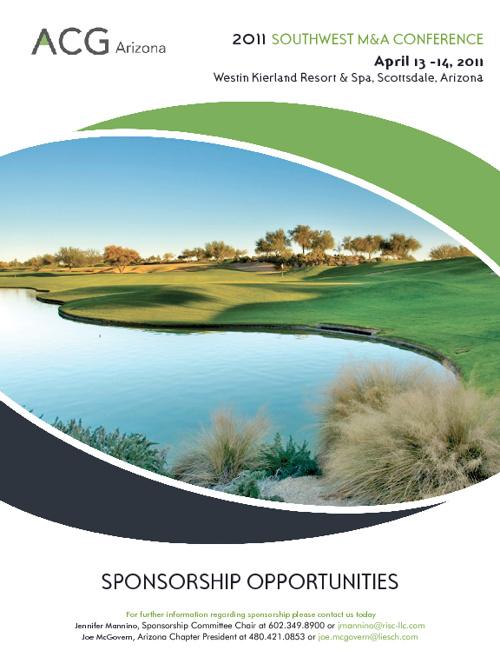 2011 SWM&A Sponsor Brochure