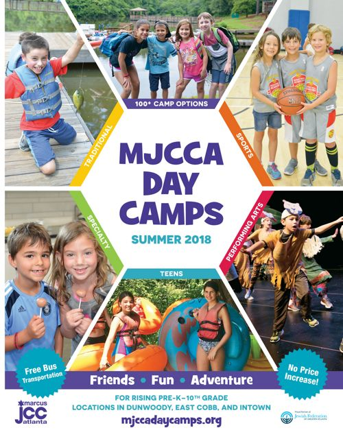 MJCCA Day Camps Summer 2018