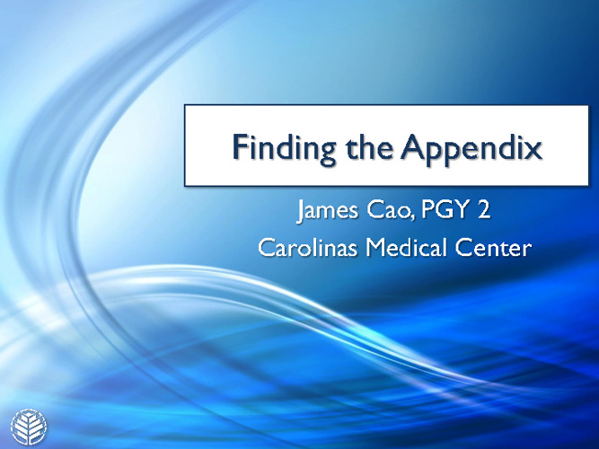 Finding the Appendix