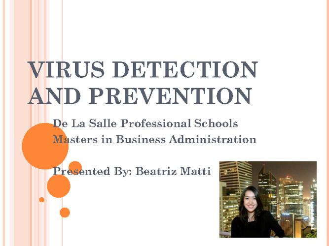 Virus Presentation (LBYAPC1)