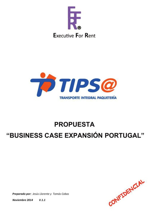 """Tipsa """"Business Case"""