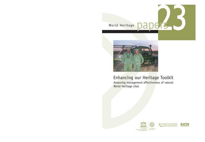 Enhancing our Heritage Toolkit - Papers 23