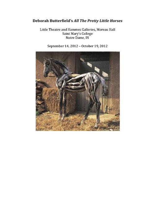 Deborah Butterfield Exhibition
