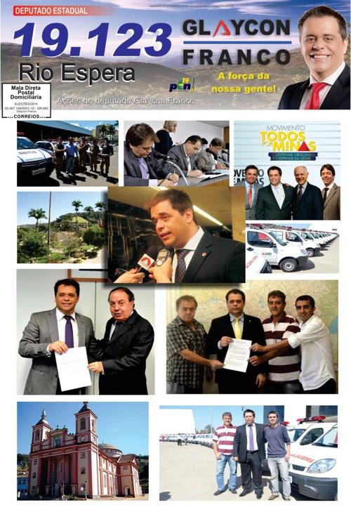 Jornal Rio Espera - Glaycon Franco