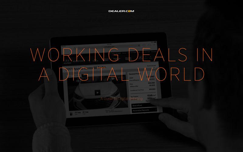 Dealer.com Digital Retailing