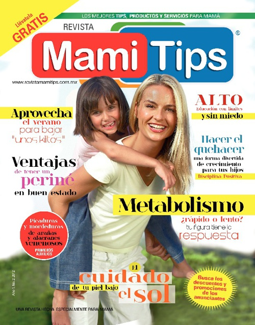 REVISTA MAMI TIPS JULIO