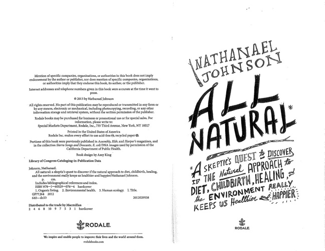 All Natural excerpt