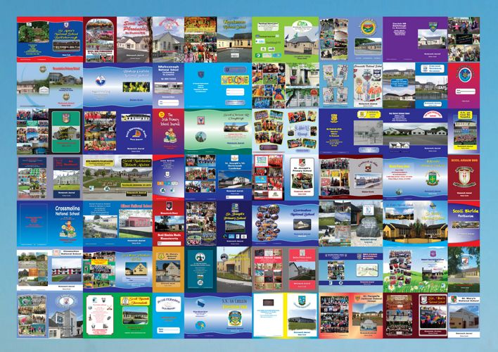 1. Collage of Customised Journal Covers 2017