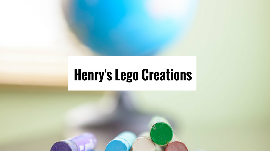 Henry's Lego Creations