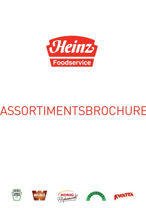 New FlipHeinz Foodservice assortimentsbrochure