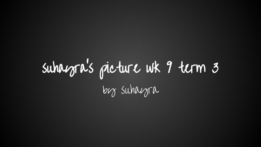 suhayra's picture wk 9 term 3