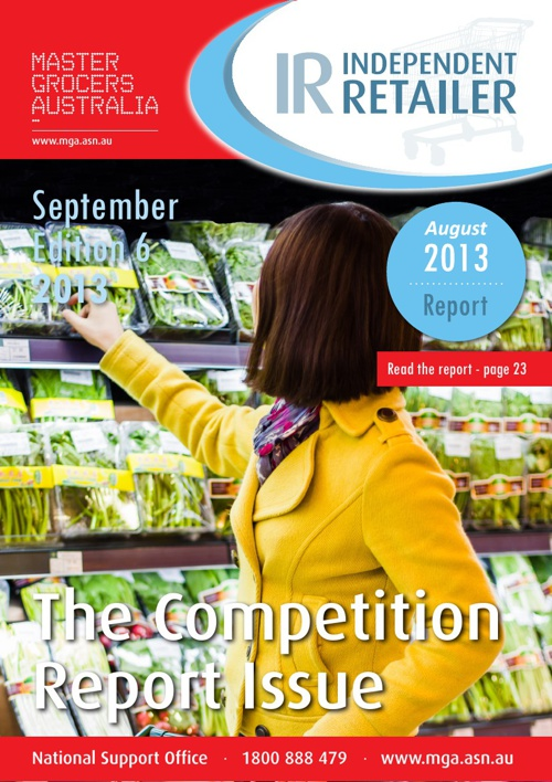 Independent Retailer September 2013