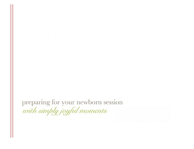 Newborn Studio Guide