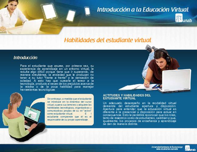Introducción a la Educación Virtual