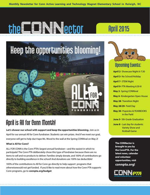 Connector April 2015 All For Conn