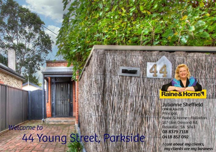 44 Young Street, Parkside For Sale - Julianne Sheffield - Raine