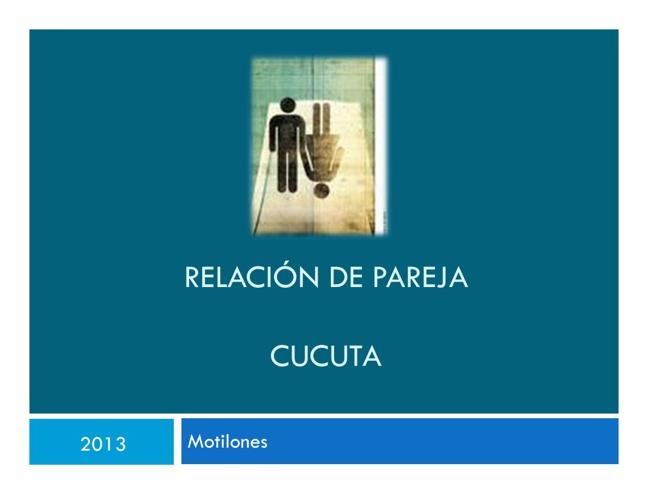 Relacion de Parejas 2013