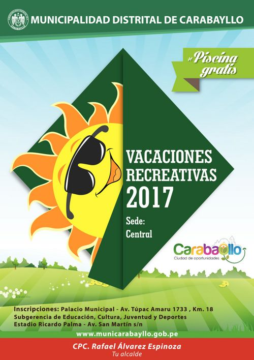 Vacaciones Útiles 2017 General