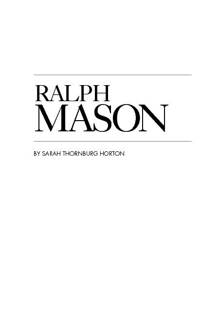 Ralph Mason #2
