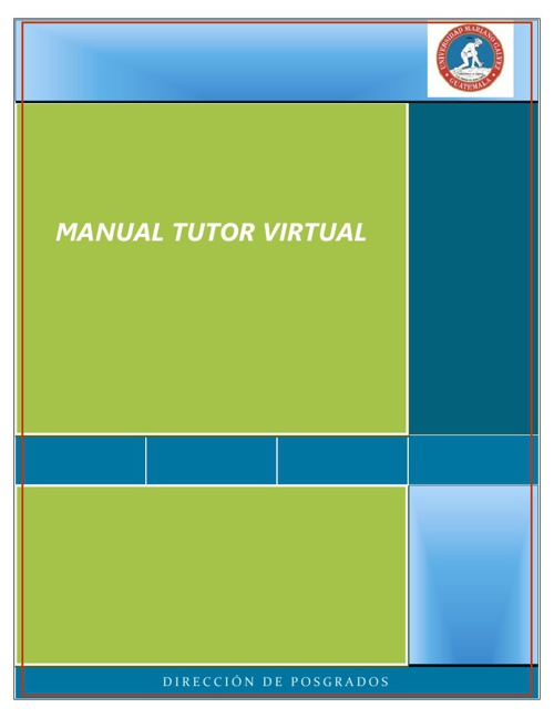 Manual Tutor Virtual