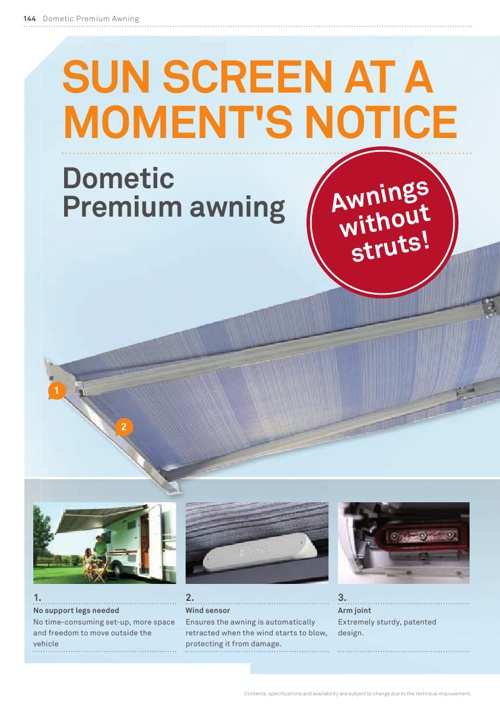 Dometic Awnings from Van Bitz