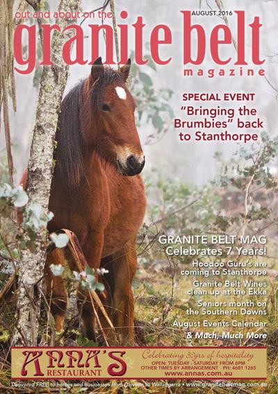 Granite Belt Magazine August 2016