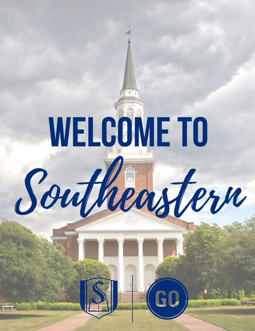 Welcome to Southeastern Baptist Theological Seminary!