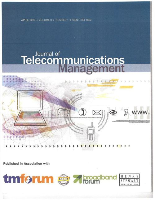 Journal of Telecommunications Management