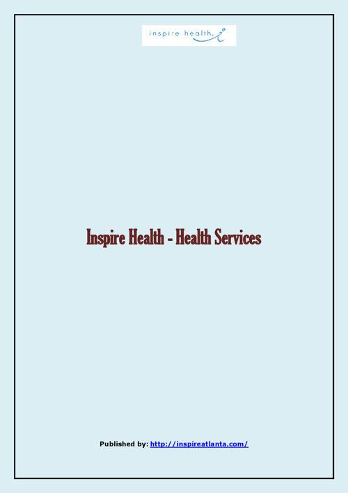 Inspire Health - Health Services