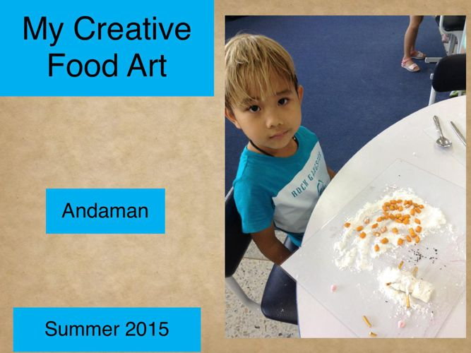 Andaman's Creative Cookbook