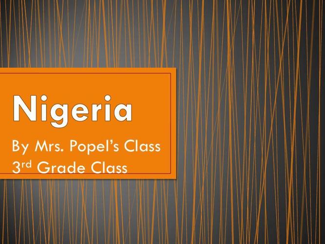 3rd Nigeria