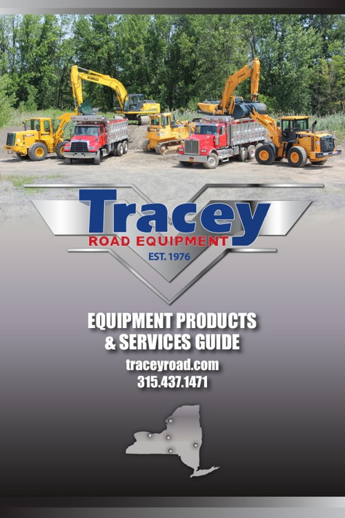 Tracey Road 2013 Equipment Guide