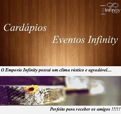 Cardápios - Emporio Infinity