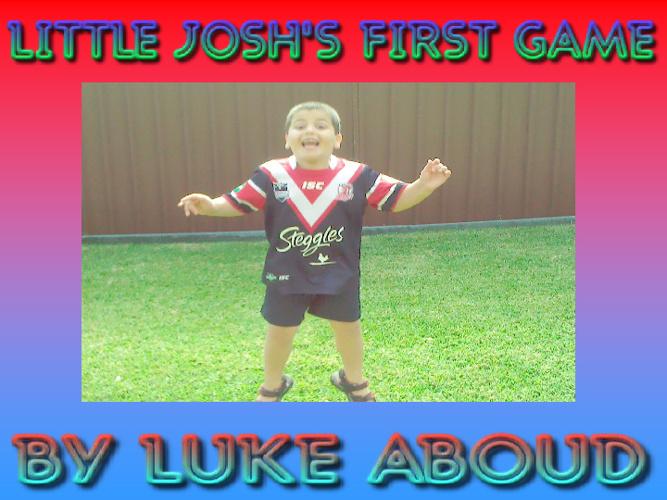 LITTLE JOSH'S FIRST GAME