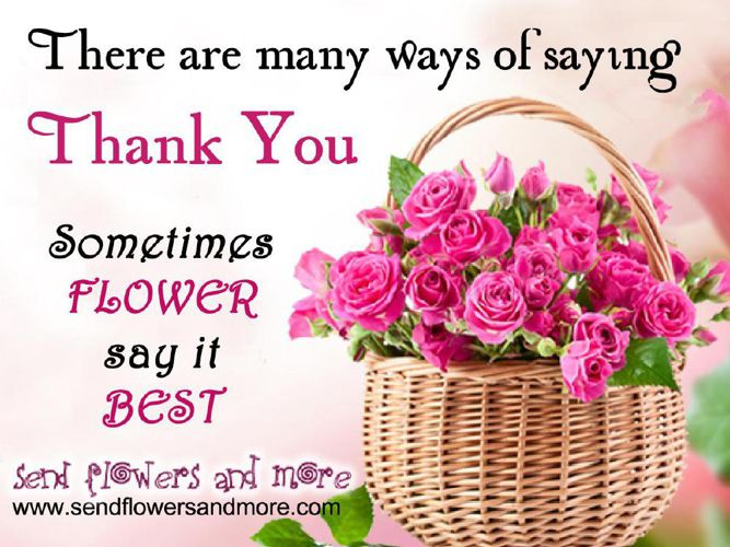 Say Thank You With Lovely Flower Bouquet