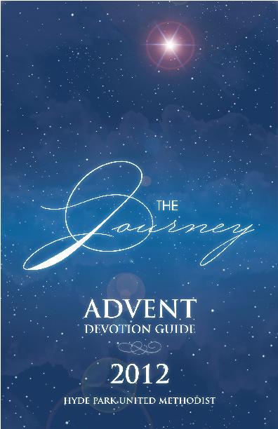 Advent Devotion Guide 2012