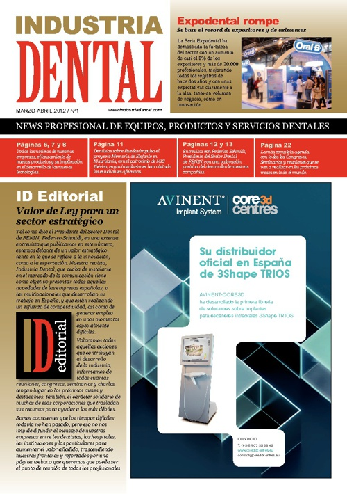 Nº1 Industria Dental - Abril/Mayo 2012