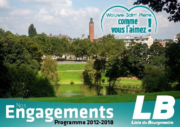 Elections communales du 14 octobre 2012: Nos Engagements