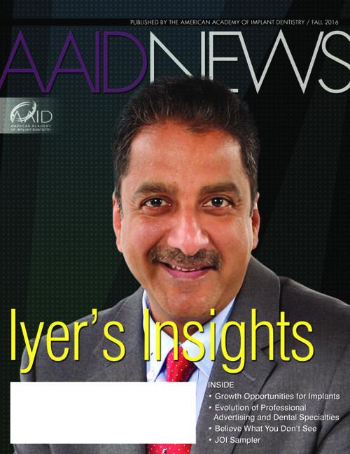 AAID News Fall 2016