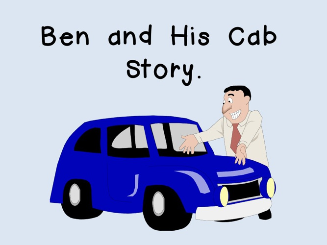Ben and His Cab.