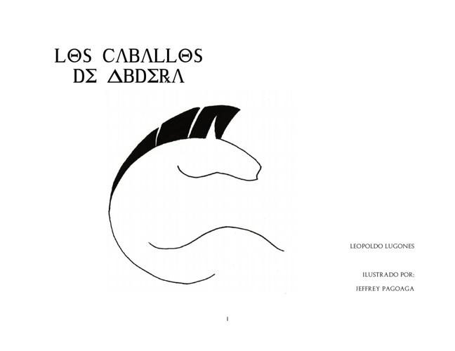 Los caballos de Abdera