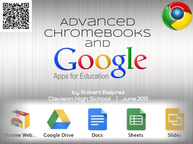 Advanced Chrome and Google Apps 3 Part Series