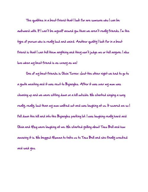 Jackie's Journal :)