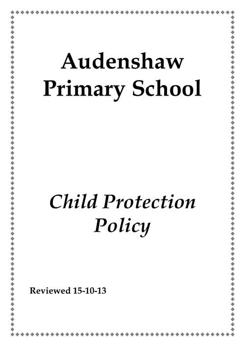 Child Protec Oct 13