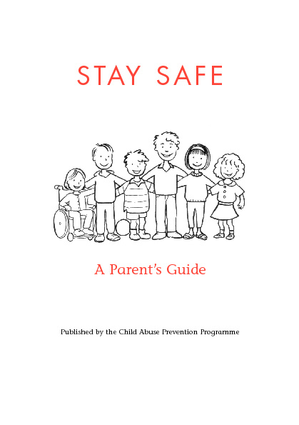 Stay Safe - Parent's guide