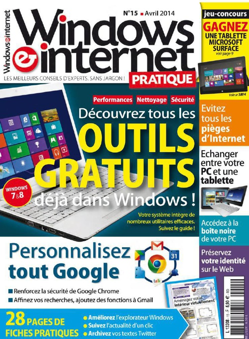Windows & Internet Pratique N 15 - Avril 2014 b